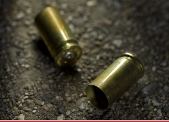 picture of spent shell casings